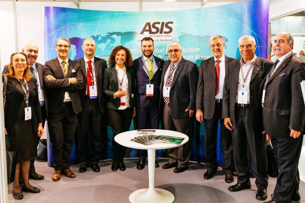 ASIS OFFICERS from Italy, Southern Connecticut and Maghreb Chapters